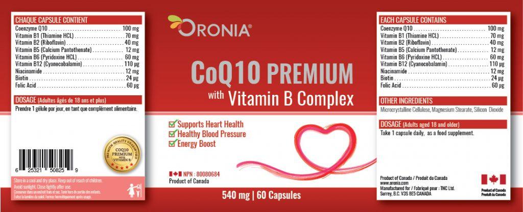 piniks.com, [Oronia] Coenzyme - Coq10 Premium