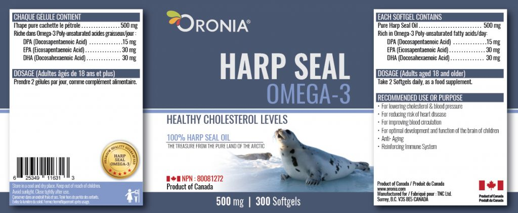piniks.com, [Oronia] Harp Seal Oil Omega-3